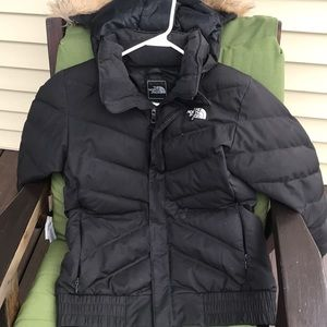 North Face down winter coat